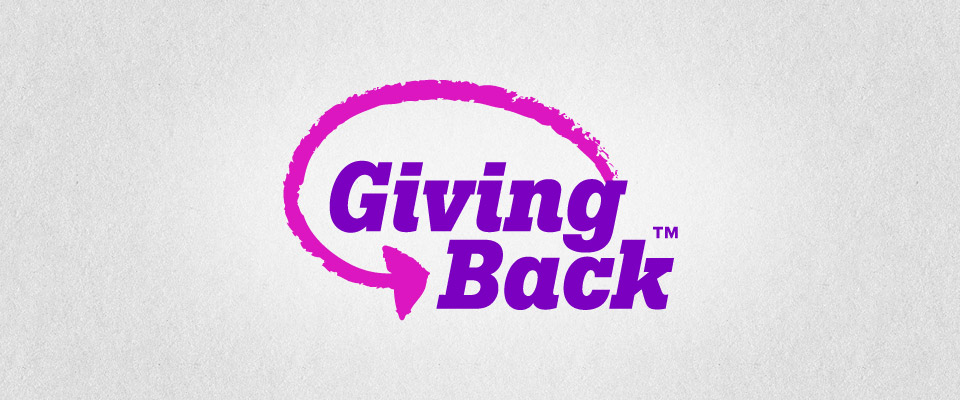 Giving Back Logo Branding