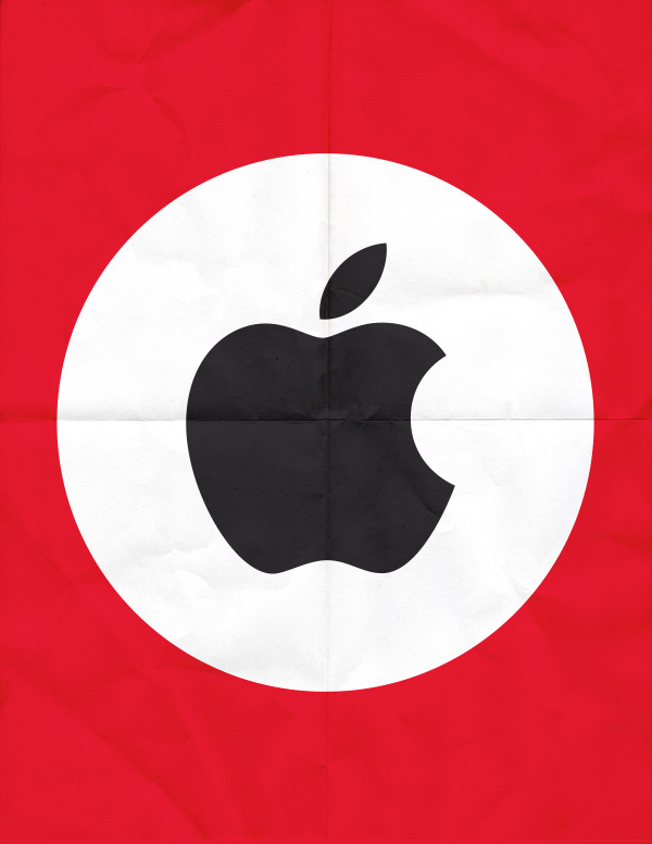 Brands as nationalist parties – company logos re-imagined by Studio ROKIT