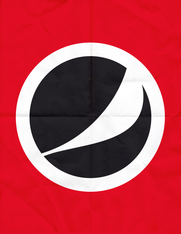 Brands as nationalist parties – company logos re-imagined by Studio ROKIT / SET TWO