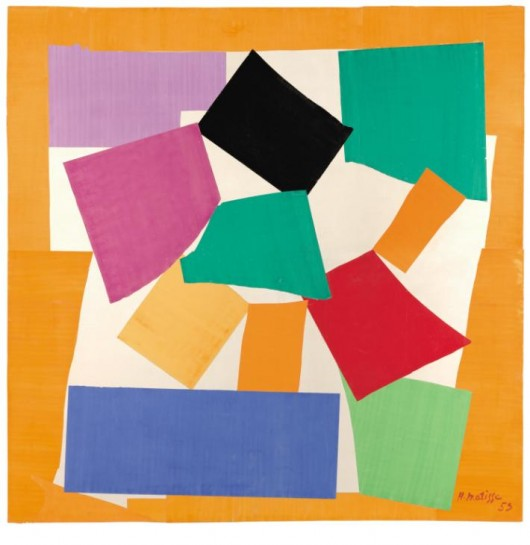 The Snail 1953 by Henri Matisse 1869-1954